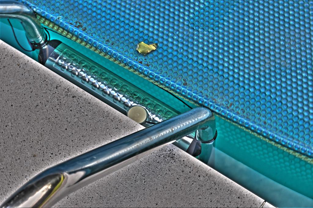 Pool trappa